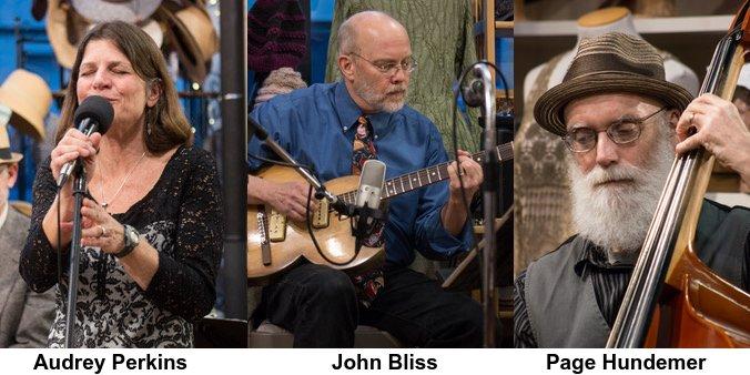 Audrey, John, Page