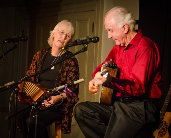 Steve Gillette and Cindy MangsenIn Concert @ Methodist Church   Corvallis   Oregon   United States