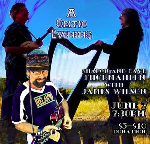 James Wilson, with Dave and Sharon Thormahlen - Celtic Music @ Troubadour Music Center | Corvallis | Oregon | United States