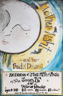 Mother Night and the Book of Dreams: a Concert @ Unitarian Universalist Fellowship | Corvallis | Oregon | United States