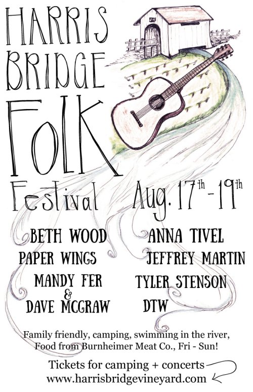 Harris Bridge Folk Festival @ Harris Bridge Vineyard | Philomath | Oregon | United States