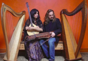 Celtic harps, rare instruments and wondrous stories - a benefit for OregonFlora @ Saraha Buddhist Institute | Corvallis | Oregon | United States